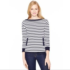 Kate Spade Stripe Pocket Top